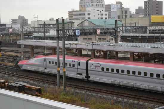 Toyoko Inn Akitaeki Higashiguchi: 駅ビル直結ってところが便利ですね!(^_-)