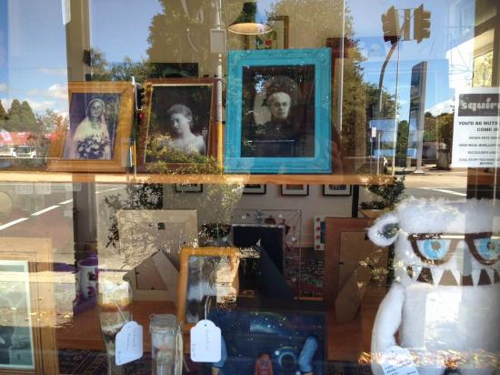 Blackheath, Australia: Squirrel_shop window