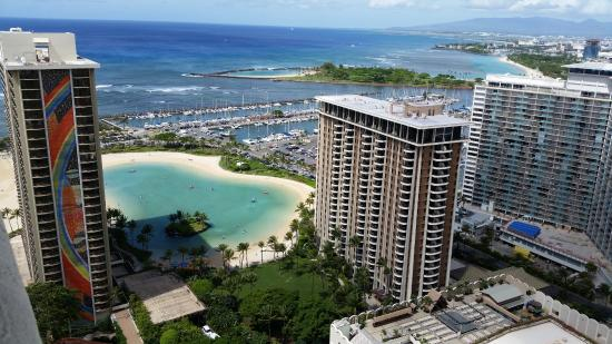 Hilton Hawaiian Village Waikiki Beach Resort Ocean View Room Tapa Tower