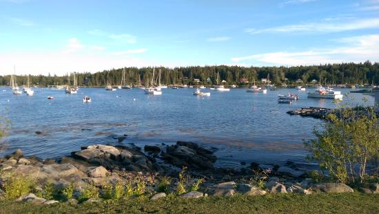 Tenants Harbor, ME: View from grounds