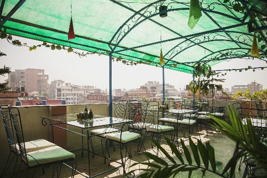 rooftop resturant picture of backyard hotel kathmandu tripadvisor. Black Bedroom Furniture Sets. Home Design Ideas