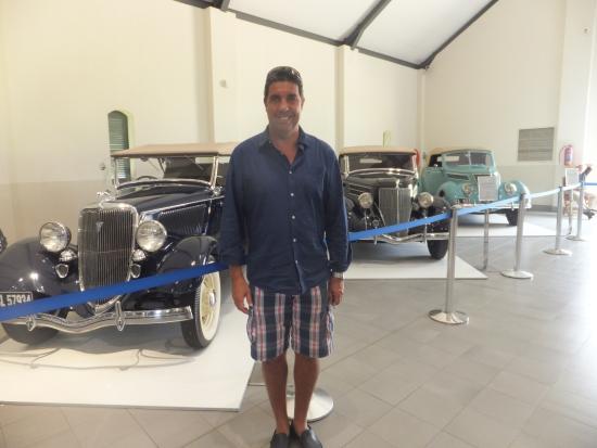 Franschhoek, Sudáfrica: love the blue car