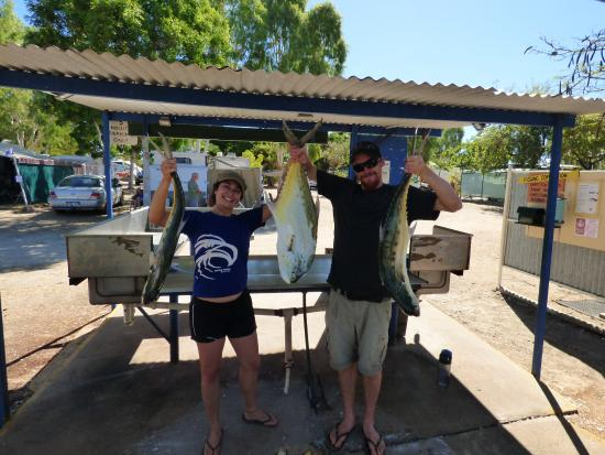 Karumba, Australien: Our catch!