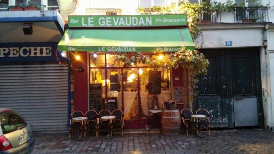 Le Gevaudan Paris 19 Rue D Aligre Bercy Nation