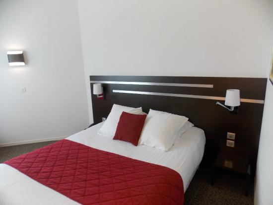 hotel Chantereyne : chambre confort port/basilique