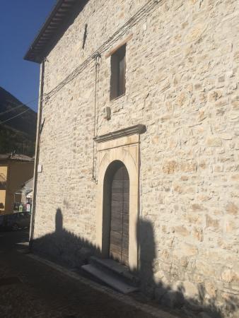 Castelsantangelo sul Nera, Italia: laterale