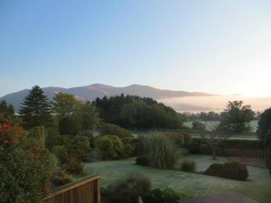 Bisoi B&B Suites: A guests photo of their view from Latrigg Suite