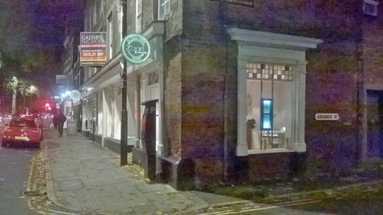 Zizzi - Derby: Zizzi at night