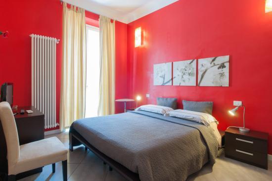 Il Cortiletto Bed & Breakfast: camera red
