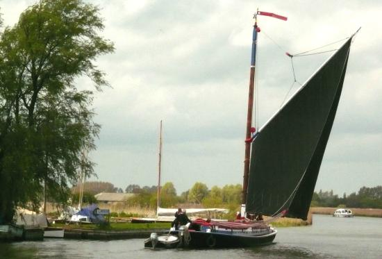 Ludham, UK: Albion under Sail