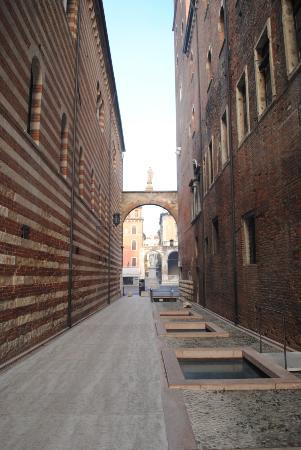 Area archeologica nella cantina del Ristorante Dodici Apostoli