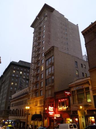 Chancellor Hotel San Francisco Reviews