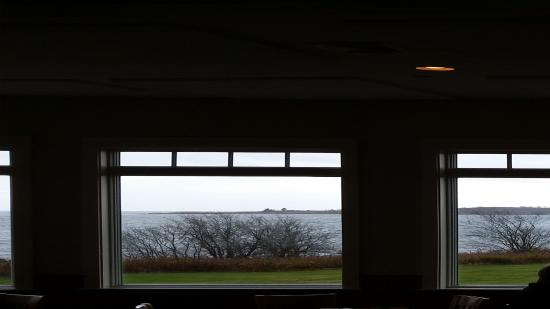 Harpswell, Μέιν: Views from the upper deck.