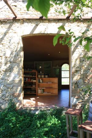 Sant Marti de Llemena, Hiszpania: Tiena de productos ecológicos