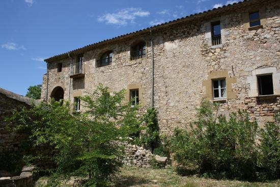 Sant Marti de Llemena, Hiszpania: Fachada sur