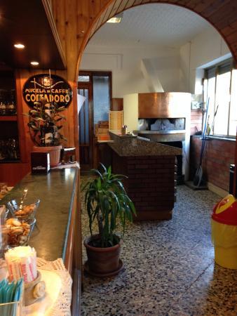 Bar Trattoria Pizzeria Meda: interno