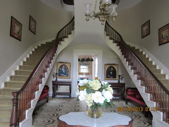 South Boston, VA: Uniquely built staircase
