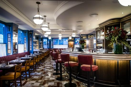 Photo of Modern European Restaurant The Ivy Cafe Marylebone at 96 Marylebone Lane, London W1U 2QA, United Kingdom