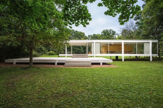Plano, IL: Farnsworth House