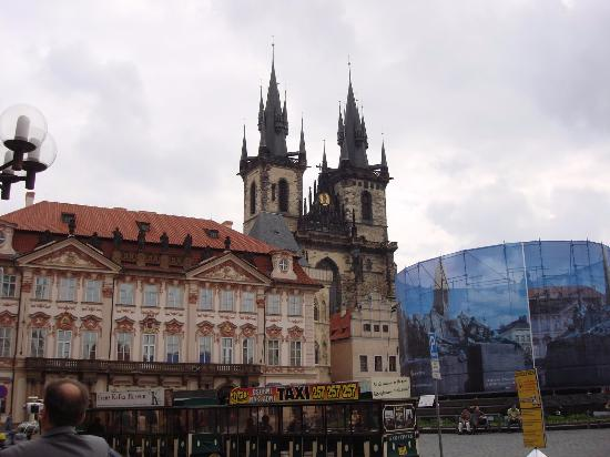 Prague centre of the old town picture of old town for Prague center