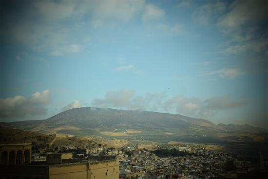 Dar El Ouedghiri: Vistas desde la Terraza de la azotea (1).