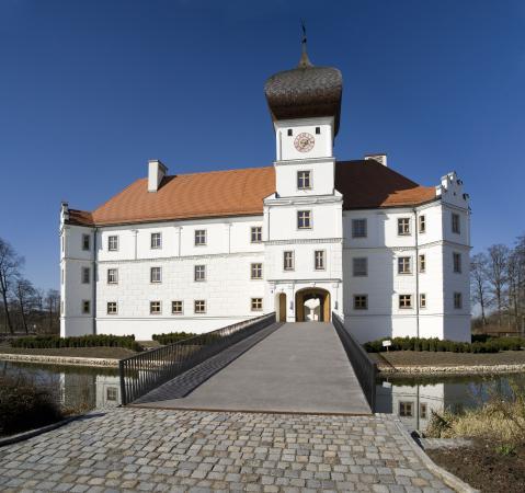 Außenansicht Schloss Hohenkammer