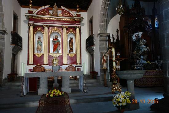 La Hacienda del Molino: l'église
