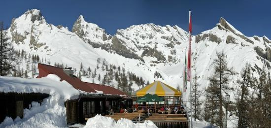 Restaurant d'altitude de Jorasse