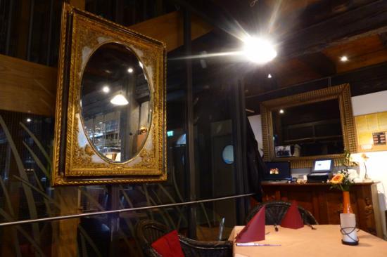 Klosterscheuer: Drinnen ist es etwas dunkel