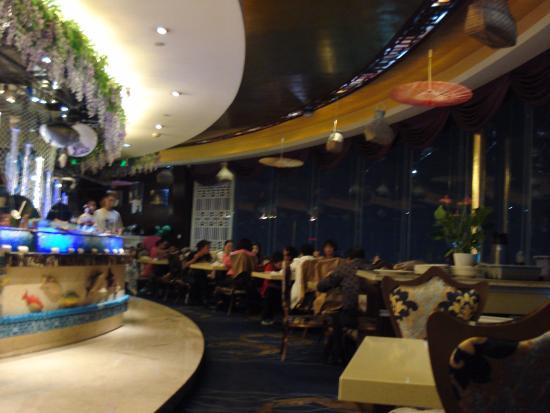 Friendship Hotel Hangzhou: Rotating restaurant 20th floor