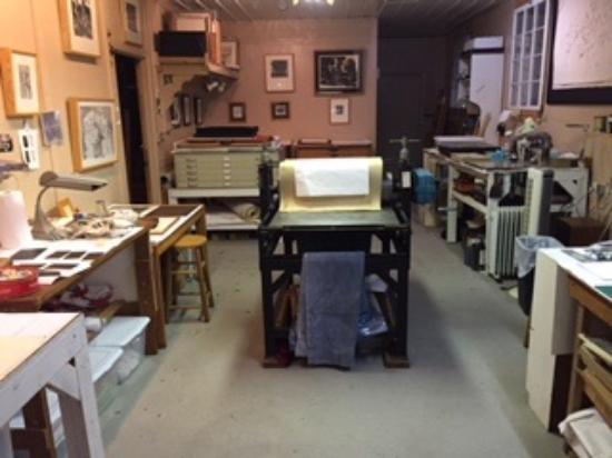 McIntosh, FL: Printing Studio