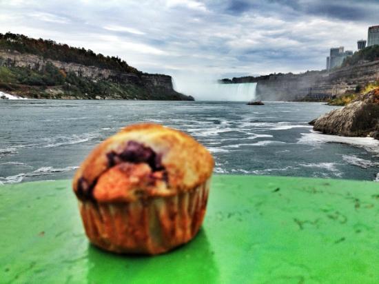 Sodus Point, estado de Nueva York: Carriage House Inn Traveling Muffin at Niagara Falls