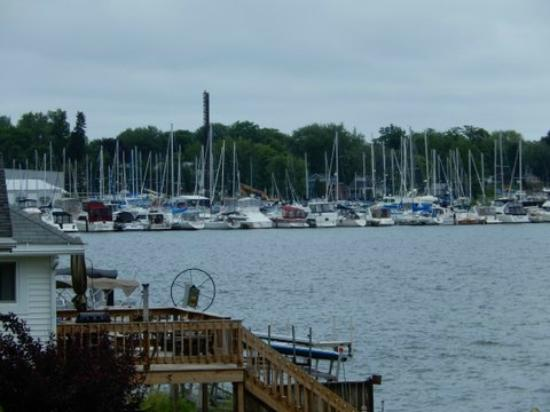 Sodus Point, NY: Sailboats on Sodus Bay