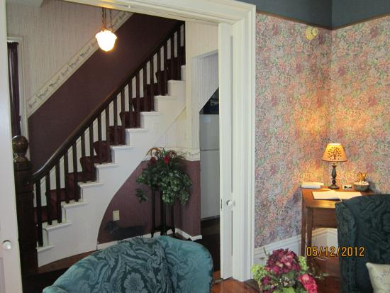 Sodus Point, NY: The elegant staircase and foyer