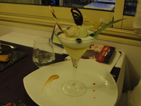 Dessert Mojito Picture Of Villa Belle Rive Sainte Luce