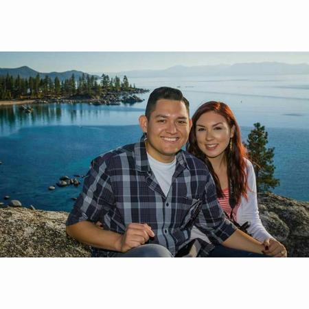 South Lake Tahoe, Califórnia: Hubby and I in Lake Tahoe :)