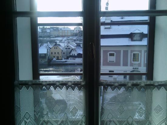 Pension U brany: вид из окна