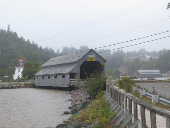 St. Martins, Canadá: covered bridge in St Martins