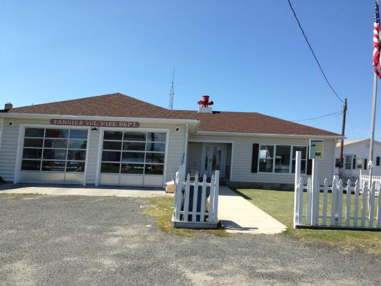 Tangier Island, Вирджиния: local fire department