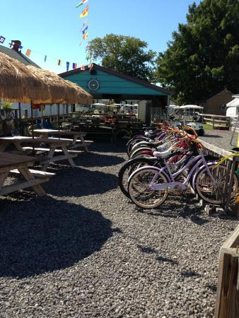 Tangier Island, Вирджиния: bike rentals