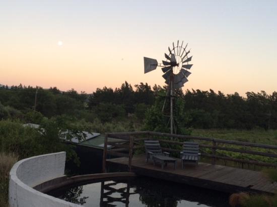 Kogman & Keisie Guest Farm: sunset view