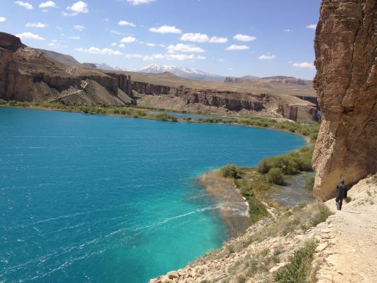 Bamyan, Afghanistan: Lake over Hang