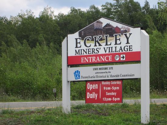 Eckley Miners' Village : Enterance