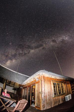 Addo Afrique Estate: Balkon mit der Milchstraße im Hintergrund