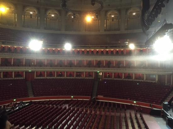 Seating picture of royal albert hall london tripadvisor for Door 4 royal albert hall