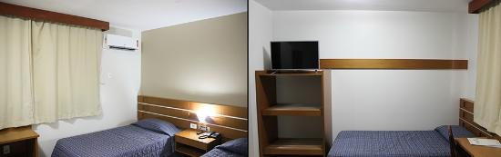 Copas Executive Hotel: Apartamento triplo