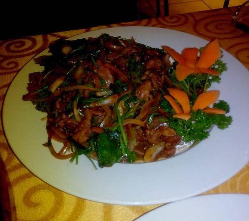 Yellow River Chinese Restaurant: Coriander Lamb