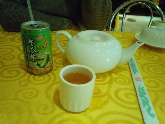 Yellow River Chinese Restaurant: White Gourd and Rooibos tea