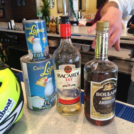 CJ's Restaurant & Bar: ROCKET FUEL
