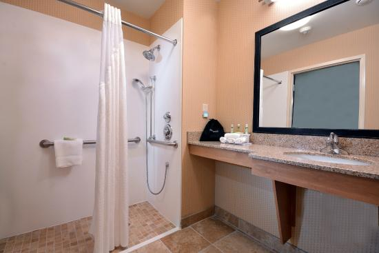 Holiday Inn Express & Suites High Point South: Roll-In Accessible Showers